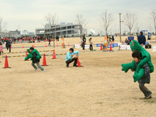 BOSAI五種競技 in 東京大マラソン祭り